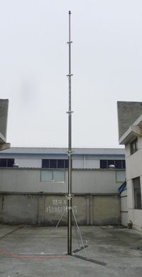 9m Pneumatic Telescopic Mast