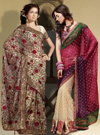 Winsome Beauty Saree Combo