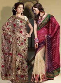 Winsome Beauty Saree Combo