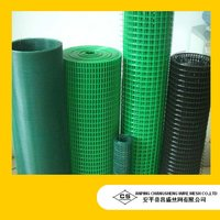 PVC And Zinc Coated Welded Wire Mesh