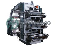 High Speed 6 Colors Non-Woven Cloth Flexographic Printing Machine (Ch886)