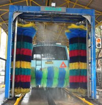 3 Brush Automatic Bus Wash System