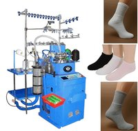 QJ2009 6F Fully Computerized Sock Knitting Machine