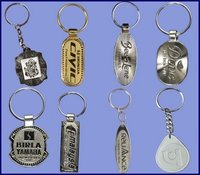 Simple Embossed Key Chains