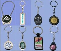 Digital Print Metal Key Chains