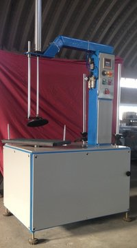 Semi Automatic Stretch Wrapping Machine