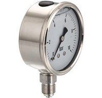 Liquid Filled Pressure Gauge H1
