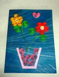 Handmade Paper Quilled Seasonal Greeting Cards