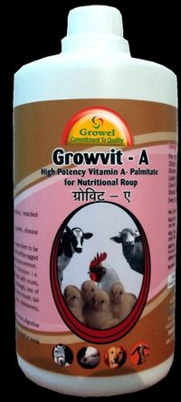 Vitamin A Liquid Supplement For Cattle And Poultry