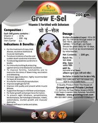 Vitamin E and Selenium for Poultry Layers and Broilers