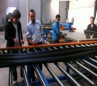 Industrial Elastomeric Closed Cell Rubber Insulation Pipe Production Lines