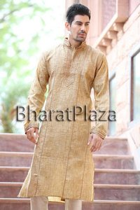 Stitch and Pin Tucks Work Kurta