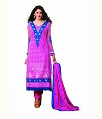 Party Wear Purple Salwar Suit