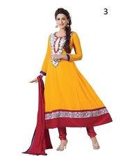 Embroidery Work Designer Anarkali Suit