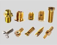 Electrical Brass Plug Pin / Female Pin Set