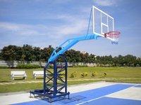 Hydraulic Basketball Post
