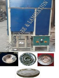 Fully Automatic Double Roll Single Die Paper Plate Making Machine