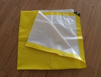 Yellow-White PE Tarpaulins