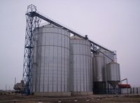 Maize Storage Metal Silo