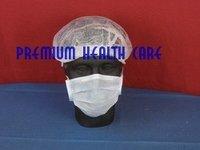 Premium's Bouffant Cap White (FC06)