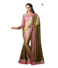 Designer Net Wedding Lehenga Saree