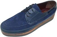 Men's Genuine Leather Slip On Flat Dress Shoes