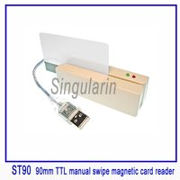 90mm USB Interface Manual Swipe Magnetic Card Reader