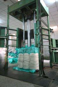 Hydraulic Coconut Fiber Baler