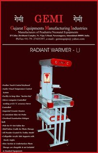 Radiant Heat Warmers