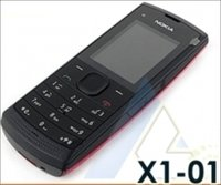 Dual Sim Red Music Phone (X1-01)