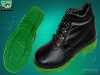 Safety Boot With Padded Color