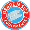 GRADE N SIZE EQUIPMENTS