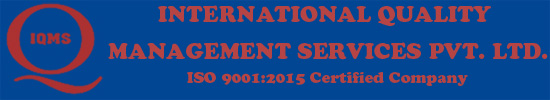 INTERNATIONAL QUALITY MANAGEMENT SERVICES PVT. LTD.
