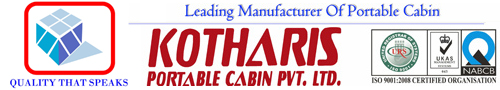 KOTHARIS PORTABLE CABINS PVT. LTD.