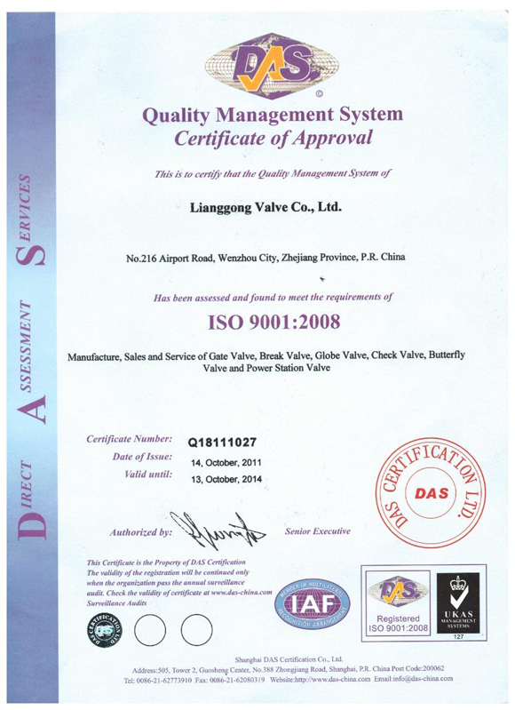 CHLG ISO 9001
