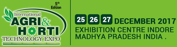 International Agri & Horti Technology Expo 2017.
