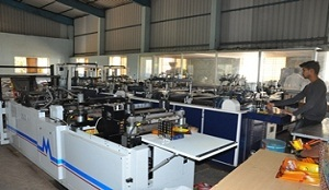 Slitting And Pouch Making Machine