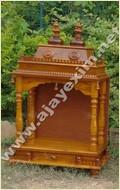 Wooden Handicraft Pooja Mandir