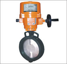 Lined Butterfly Valve Actuator