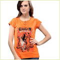 Ladies Round Neck T Shirt
