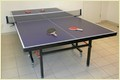Table Tennis Table As-201 Square Leg 3''  Wheels
