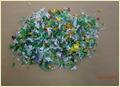 Pet Regrind Colored Scrap