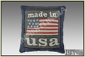 Patch Work Denim Cushion