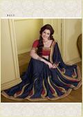 Designer Sarees With Stone Work