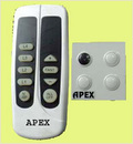 Apex Remote Controled Fan Switch With Regulator Display