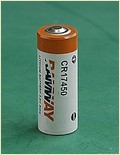 Cr17450 3.0v Lithium Battery For Water Meters