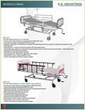 Heavy Rectangular ICU Bed