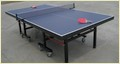 Table Tennis Table AS-205 Square Leg 4'' Wheels Championship Table