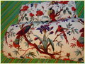 Fine Bird Print Quilt