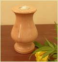 Pink Sandstone Candle Stand